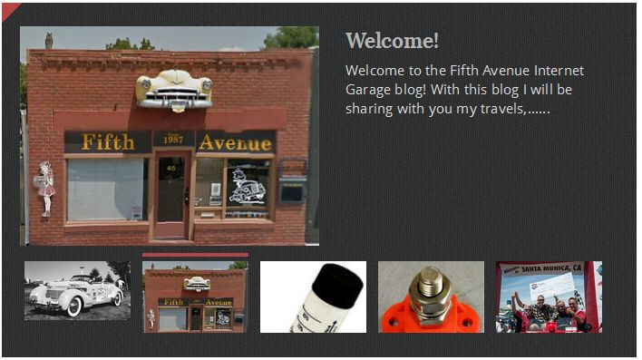 Welcome to the Fifth Avenue Internet Garage Blog