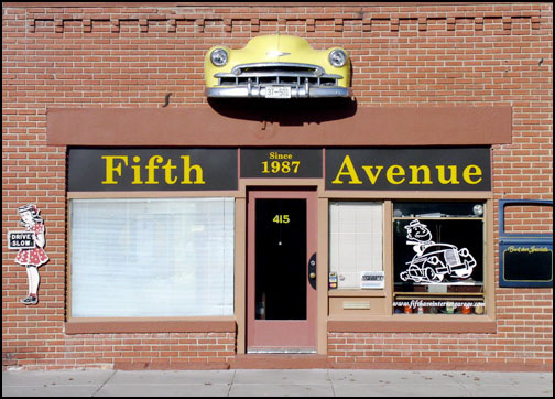 Fifth Avenue Antique Auto Parts Storefront